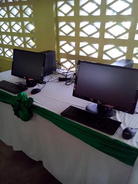 Credit Union donates 2 computers for CSEC programme