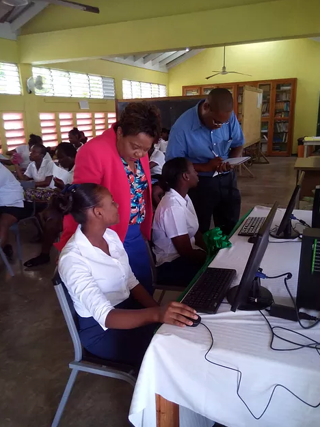 Credit Union donates 2 computers for CSEC programme