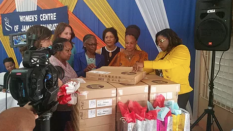 Sandals Foundation and Bob Marley Foundation donate 20 laptops