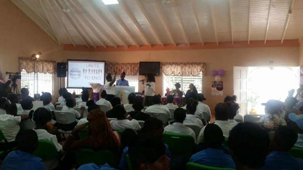 Kingston Centre holds IWD event, unite to end GBV