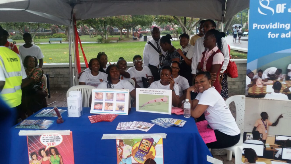 International Women's Day march and concert at Emancipation Park
