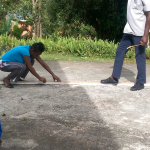 Volunteer work on Labour Day