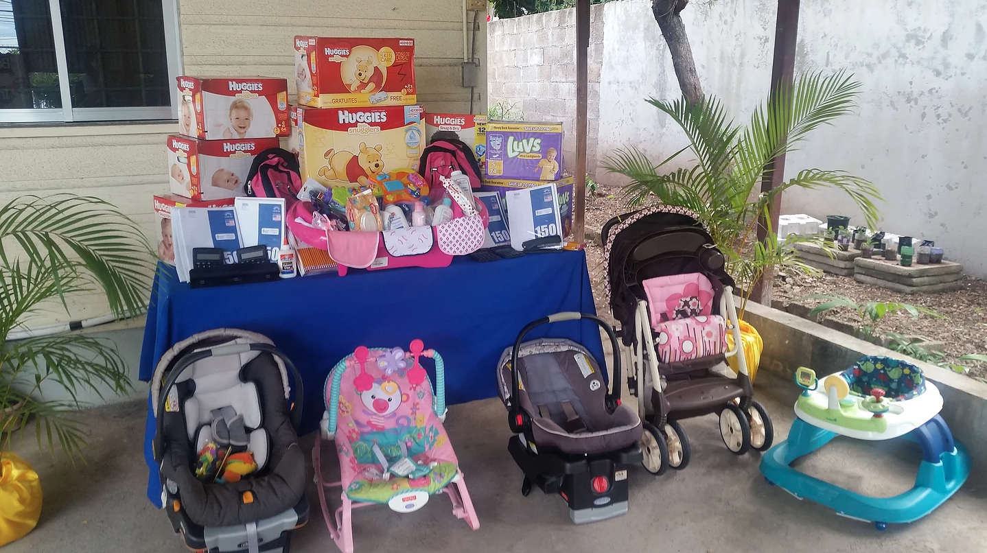 J.U.M.P Ministries donate large supply of school and baby items