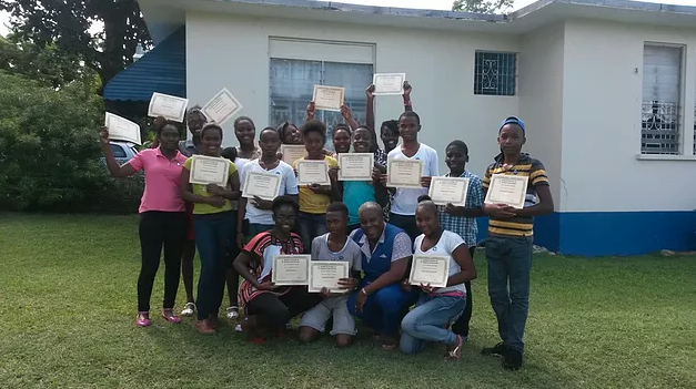 Peer counselling training in Port Antonio