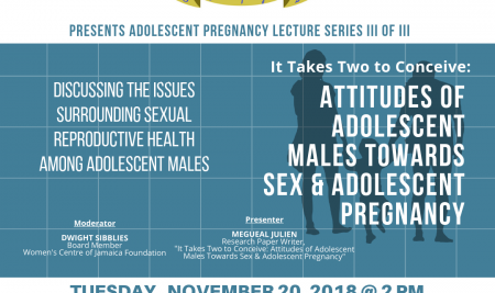 It Takes Two to Conceive: Attitudes of Adolescent Males Towards Sex & Adolescent Pregnancy