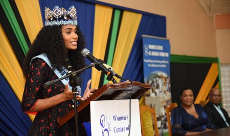 Miss World Encourages Teen Mothers To Pursue Their Dreams